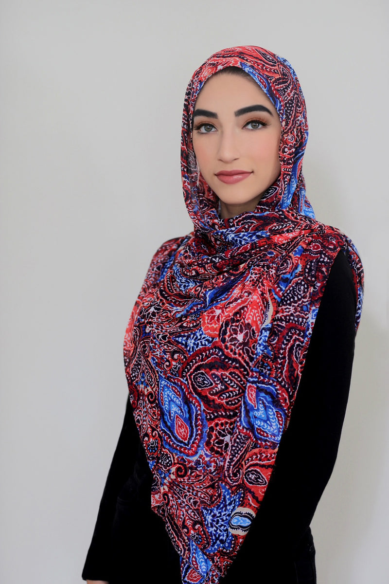 Summer Sunset Signature Chiffon Hijab