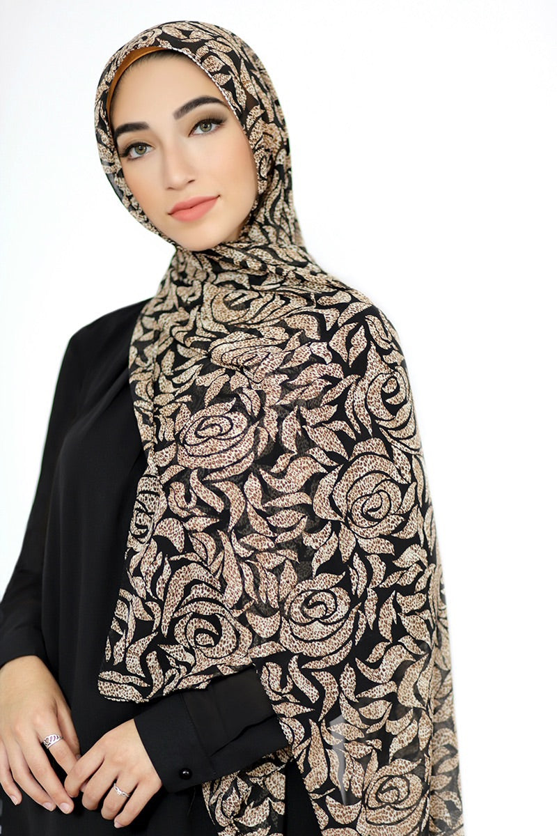 Wild Beauty Signature Chiffon Hijab