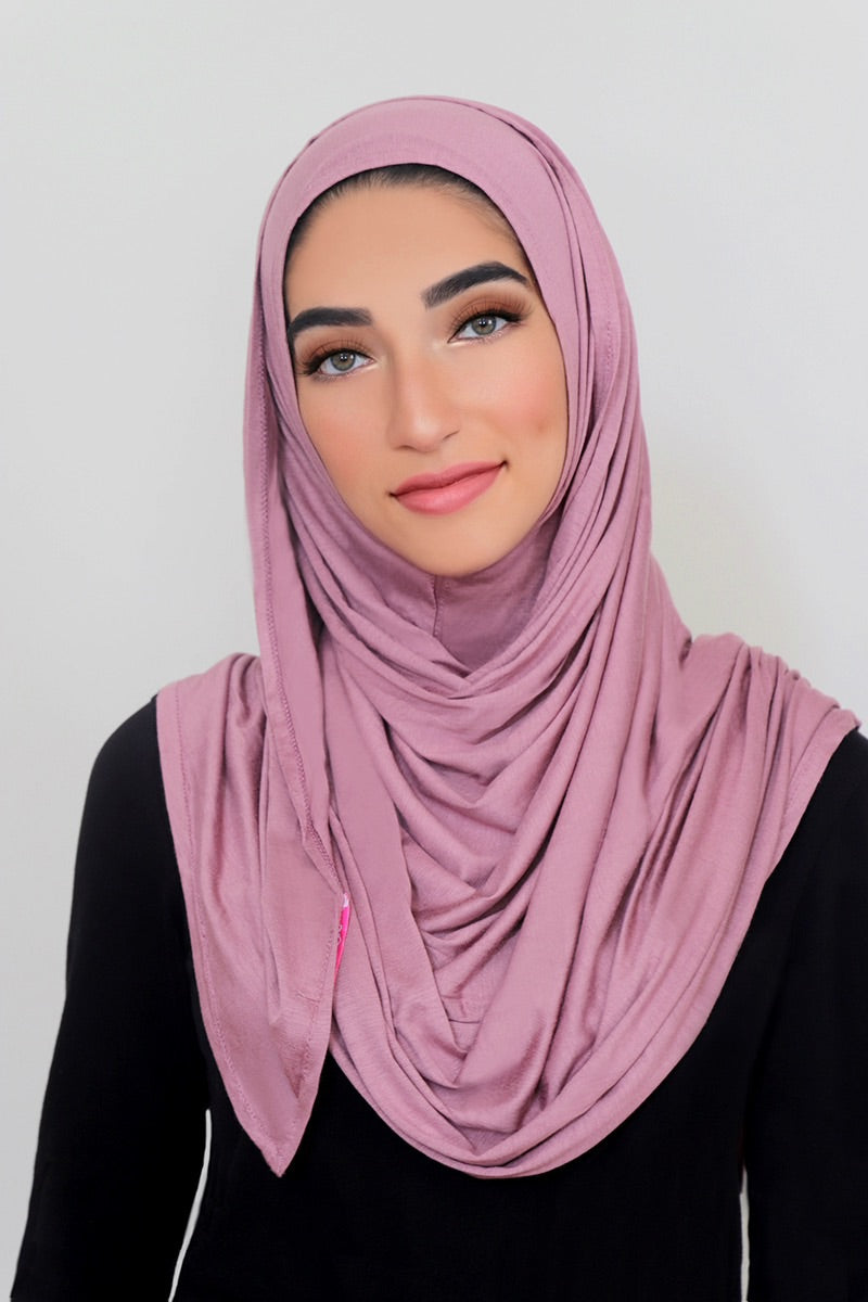 Woodrose Instant Jersey Hijab