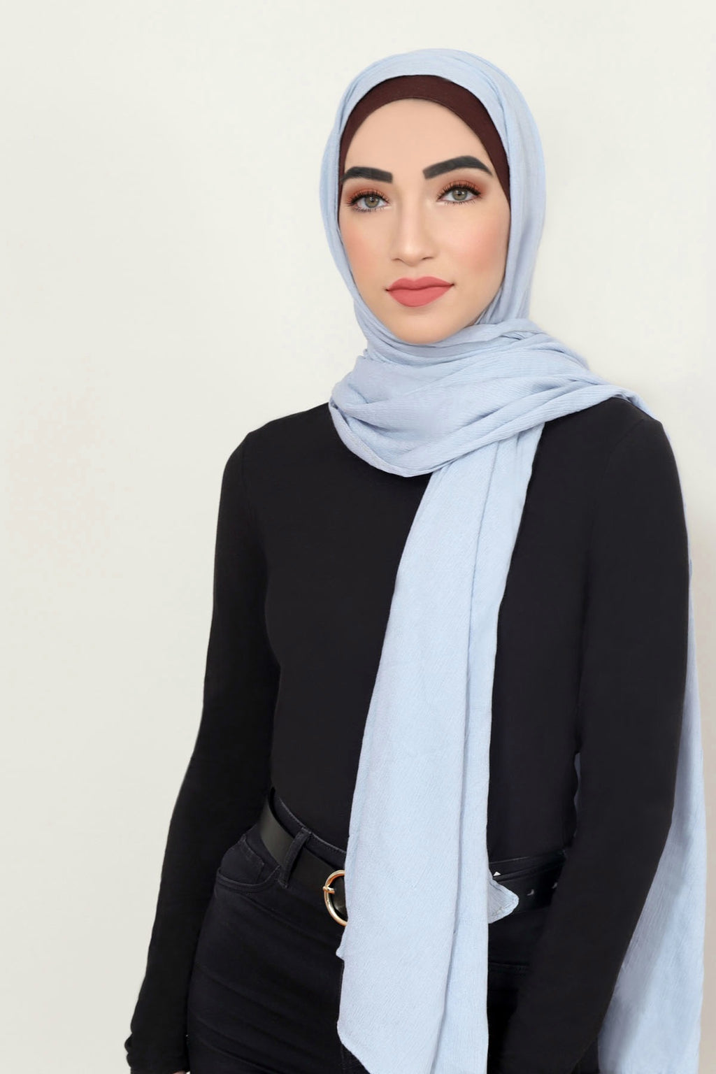 Essential Rayon Hijab-Light Gray