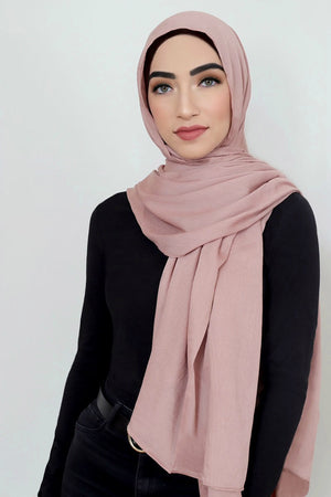 Essential Rayon Hijab-Rose