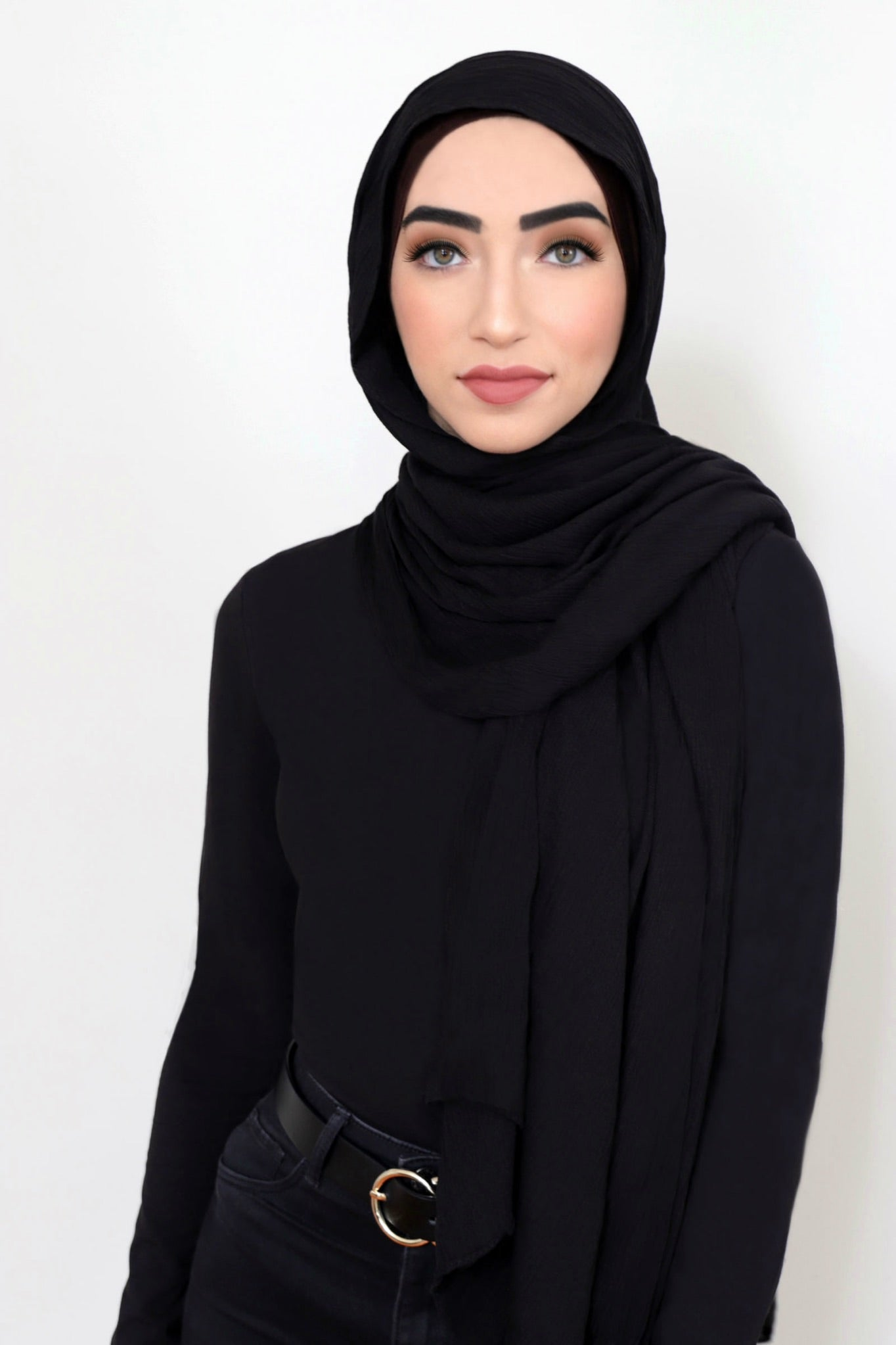 Essential Rayon Hijab-Black