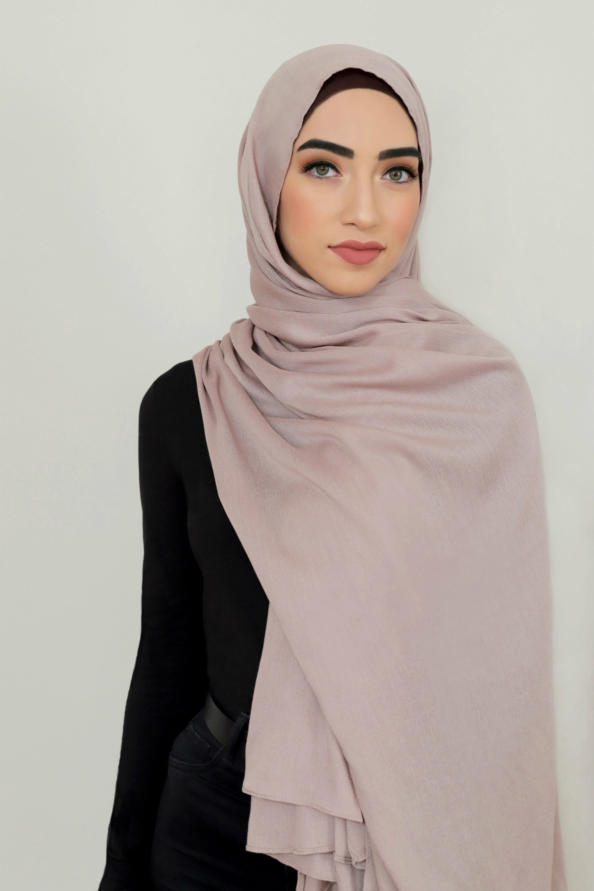 Essential Rayon Hijab-Dusty Rose