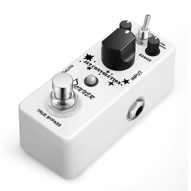 Donner Jet Convolution Flanger Guitar Effect Pedal, Vibration Rumbling Noise Effect