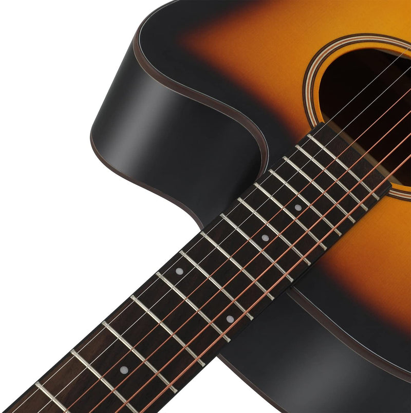 Donner Acoustic Guitar Full Size, Cutaway Guitar Package 41 inch for Beginner with Gig Bag Tuner Capo Picks Strap Strings
