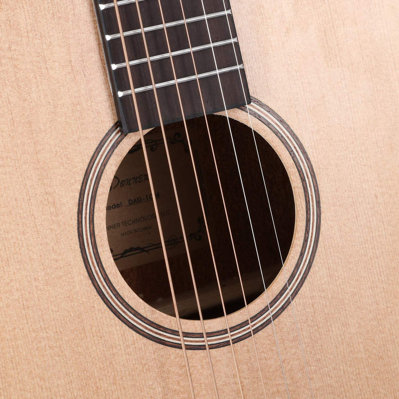 Donner 36'' Dreadnought Acoustic Guitar 3/4 Size-4