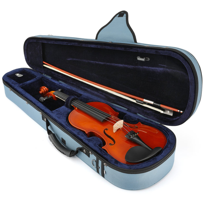 Eastar Violin EVA-1 Acoustic Student Violin Set For Beginner with Hard Case, Shoulder Rest, Bow, Rosin, Clip-on Tuner and Extra Strings