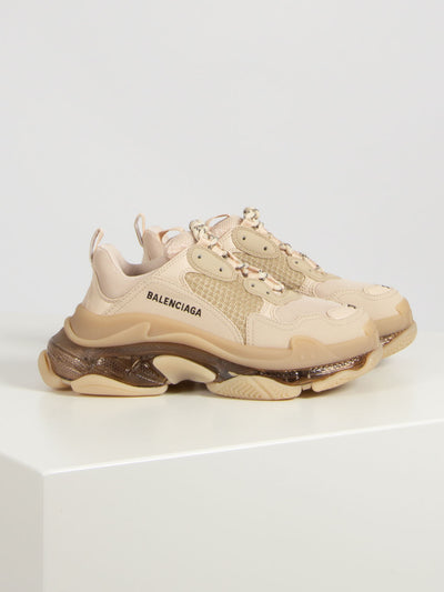 Nude Triple S clear sole (6162532270271)