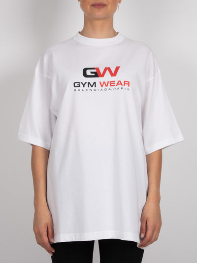 Gym Wear T-Shirt White (6162717835455)
