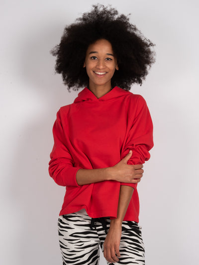 Hoodie Fire Red (6162752733375)