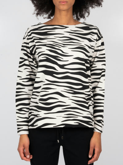 Fleece Sweater Tiger (6162757091519)