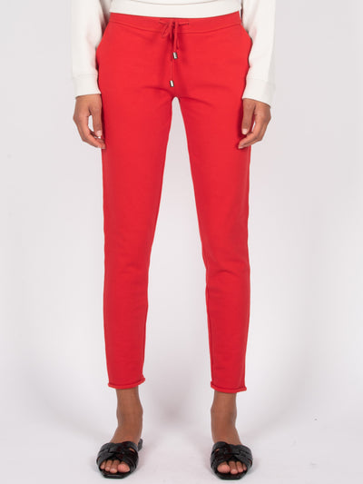 Slim Fit Sweatpants Fire Red (6162753519807)