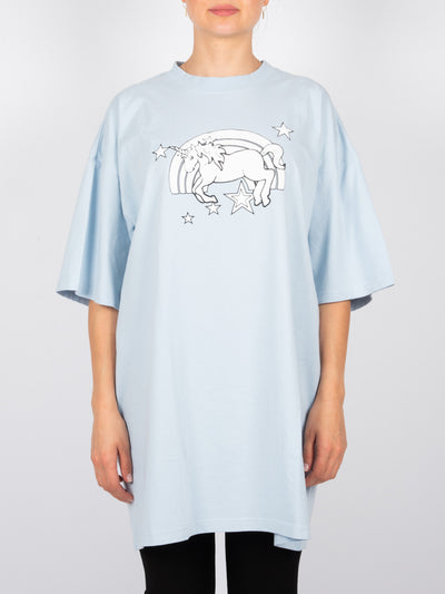 Magic Einhorn T-Shirt Baby Blue (6162772656319)