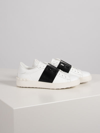 Open Low Top Sneaker Rockstud (6162653741247)