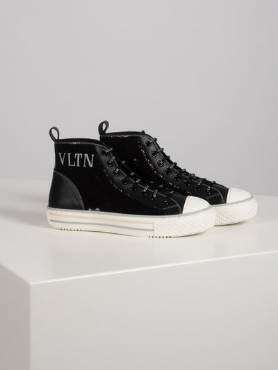 Giggies High Top Sneaker Schwarz (6162702827711)