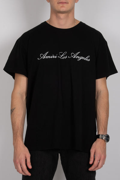 Los Angeles T-Shirt Schwarz (6162610421951)