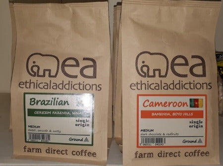 Ethical Addictions Ground Coffee