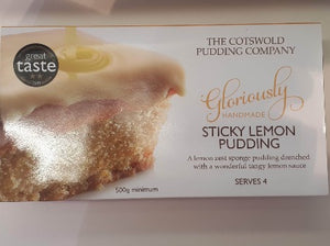 Sticky Lemon Pud