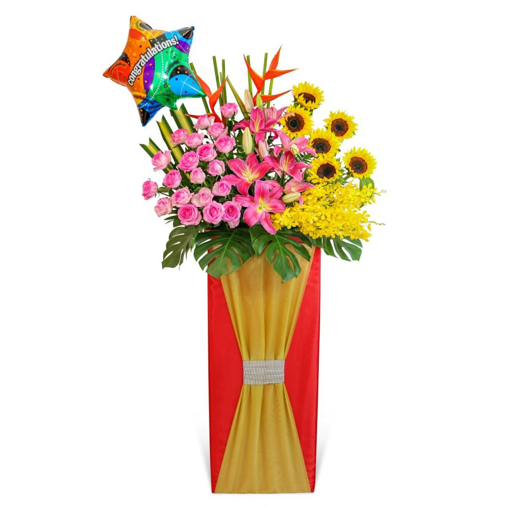 Brightest Glory Flower Stand