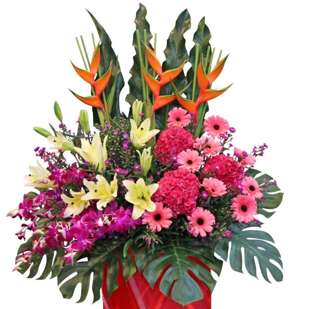 Thriving Business flower stand