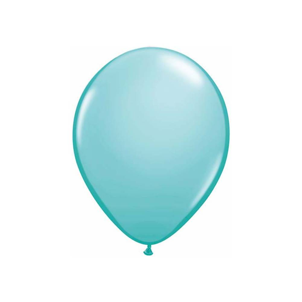 "Caribbean Blue 11"" Qualatex Balloons"
