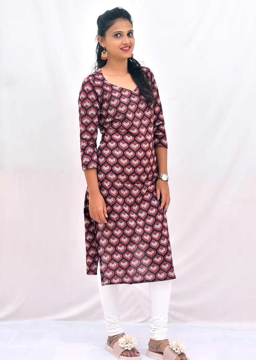Printed Simple Kurti