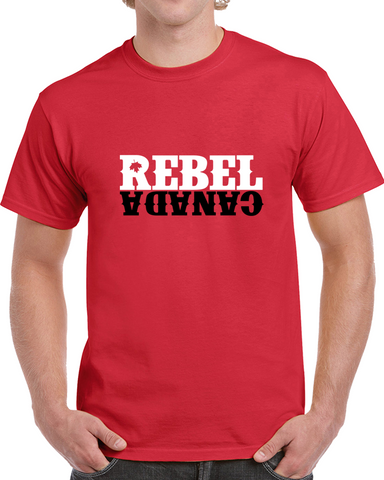 Rebel Logo - Red T Shirt