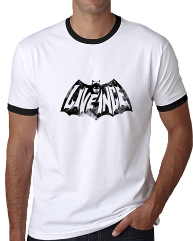 L1 Bat Ringer T Shirt