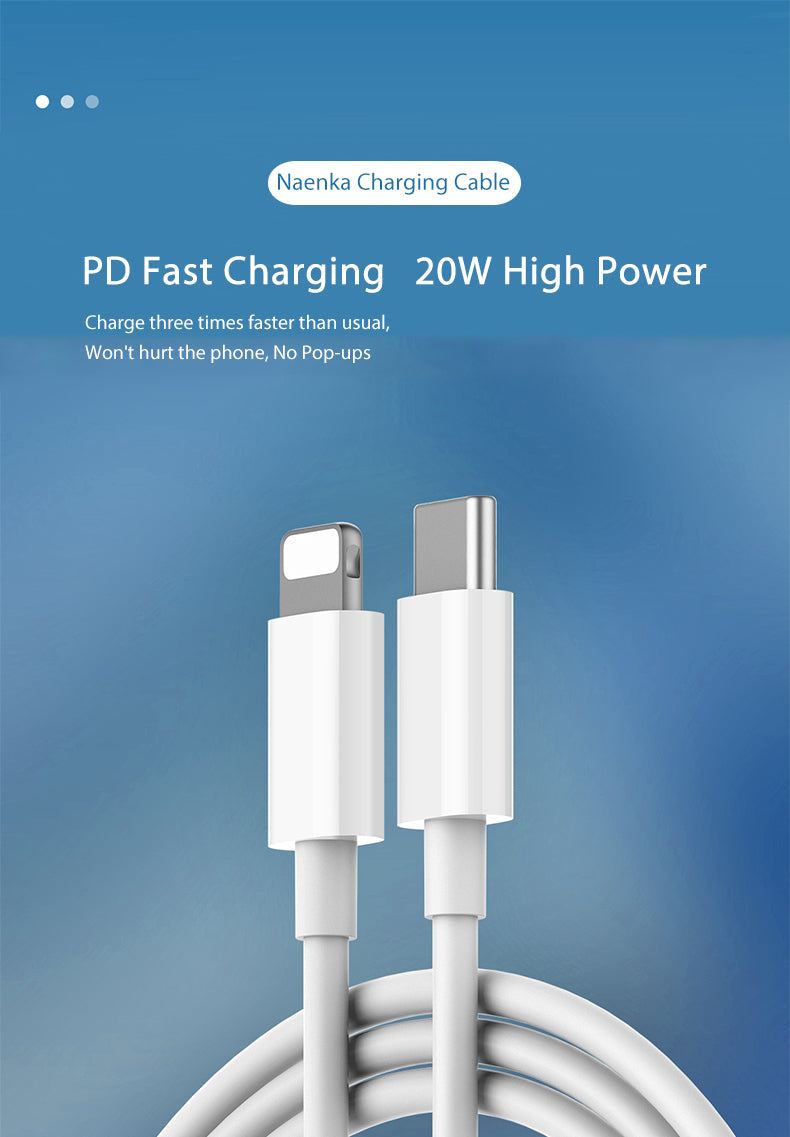 Naenka Fast Charging Cable for iphone1
