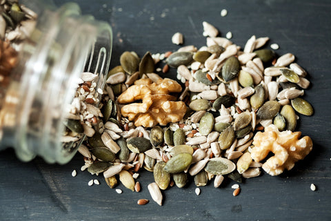 Iron in Nuts & Seeds