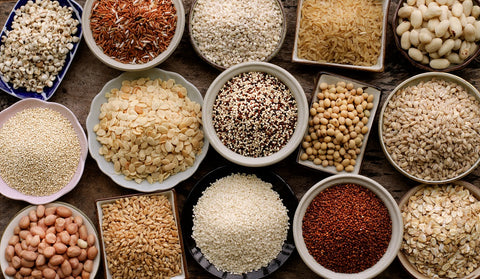 Iron in whole grains