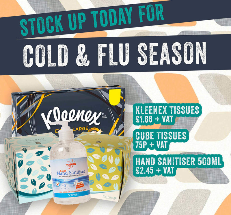 Stock Up For Cold & Flu Season