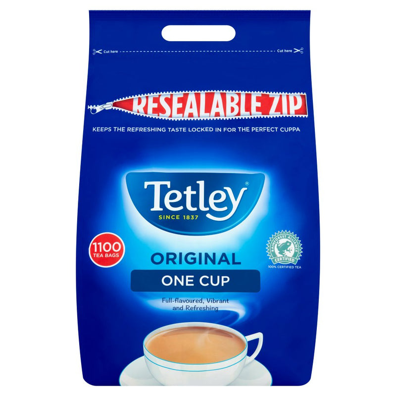 Tetley Tea: One Cup Tea Bags For Caterers - 1100 Bags