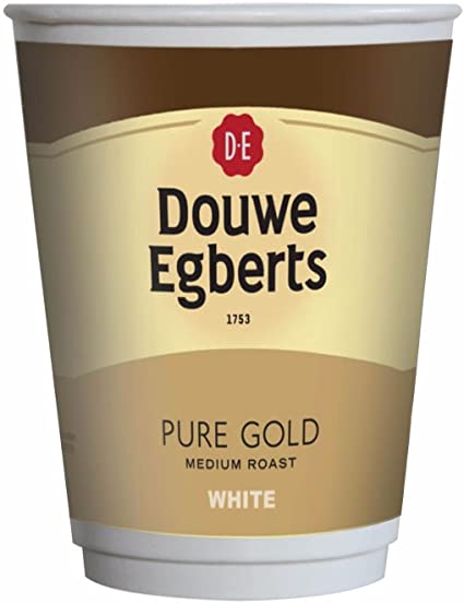 Nescafe & Go Compatible -  Foil Sealed Drinks: Douwe Egberts Gold White Coffee -  Box of 150 Cups
