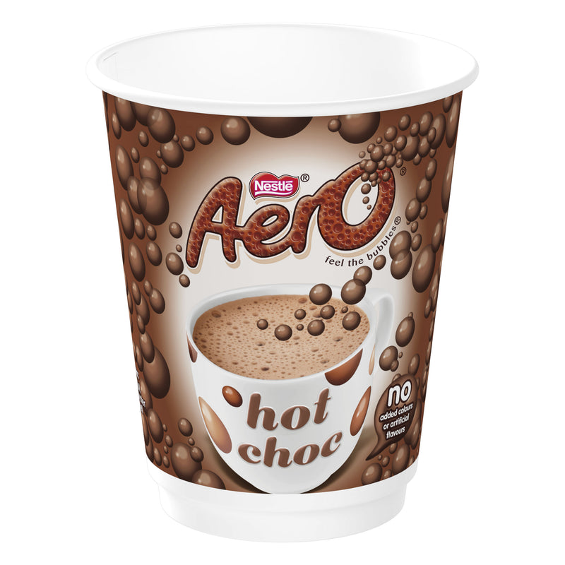 Nescafe & Go - Foil Sealed Drinks: Aero Hot Chocolate - Sleeve Of 8 Cups