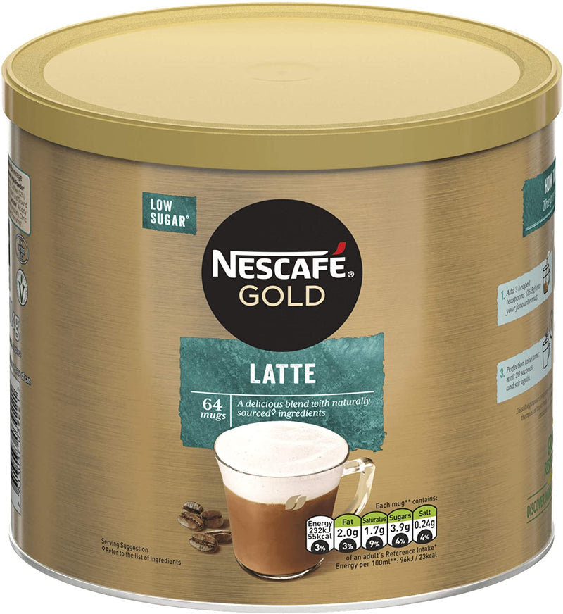 Nescafe Gold Latte: Coffee Tin 1kg