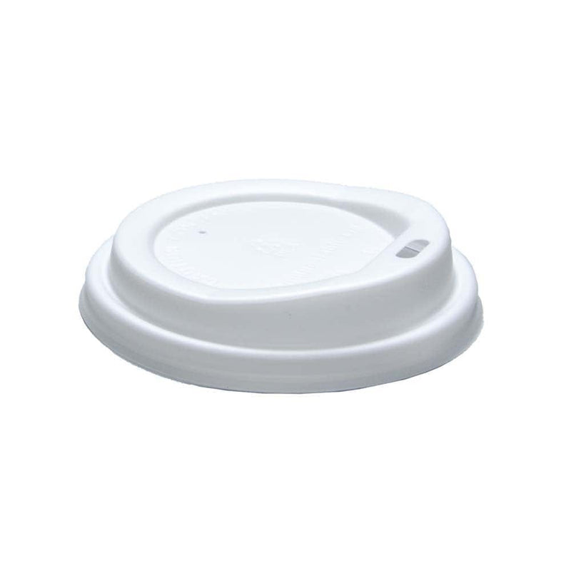 12oz / 16oz White Sip Through Lids For Takeaway Coffee Cups - Case of 1000