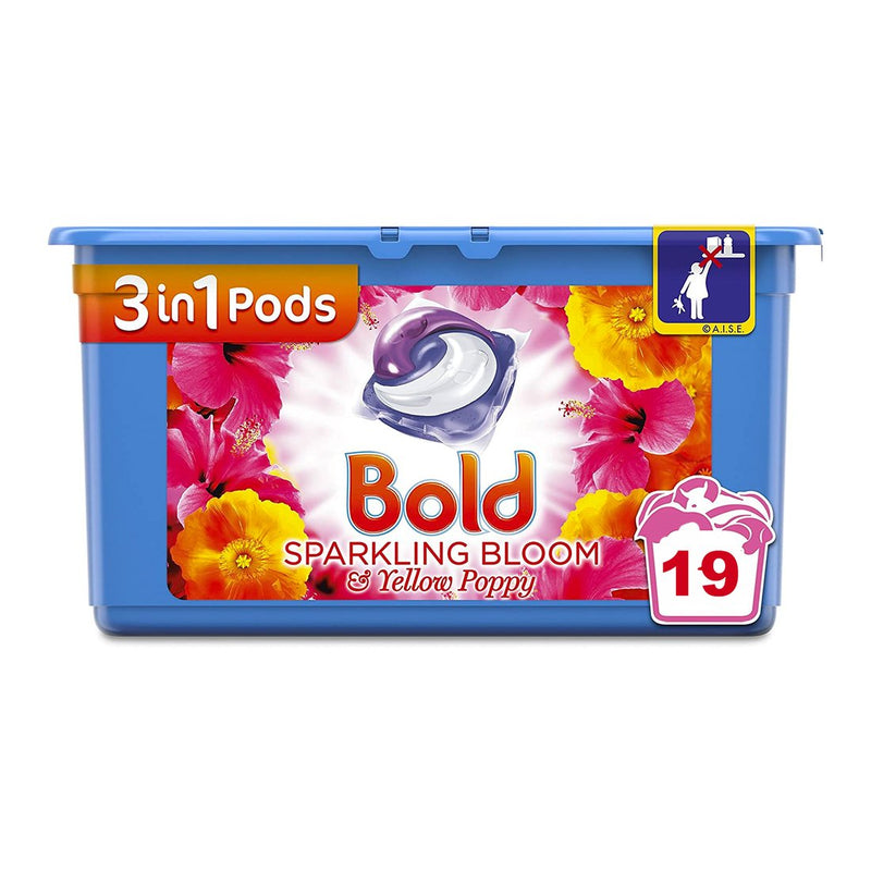 Bold All-in-1 Pods - Bloom & Yellow Poppy - 19 Pack