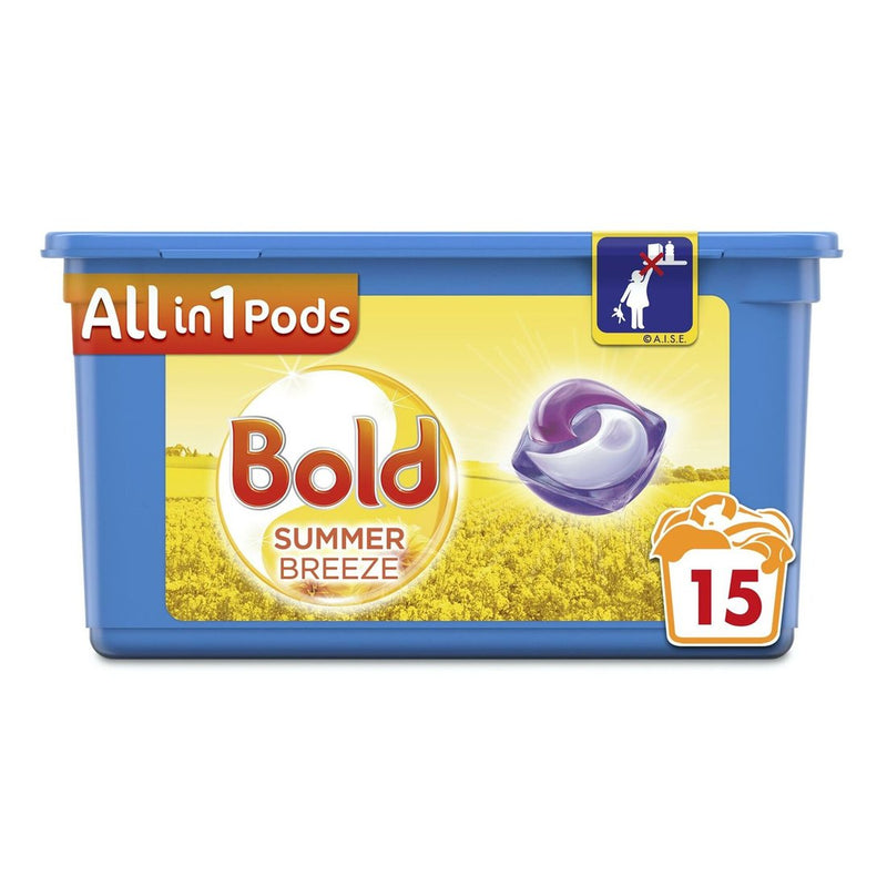 Bold 3in1 Pods - Summer Breeze - 15 Washes