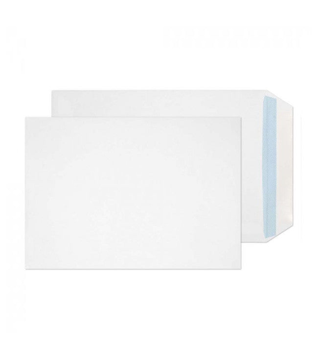 Purely Everyday - C5 White Plain Press Seal Envelopes - Box of 500