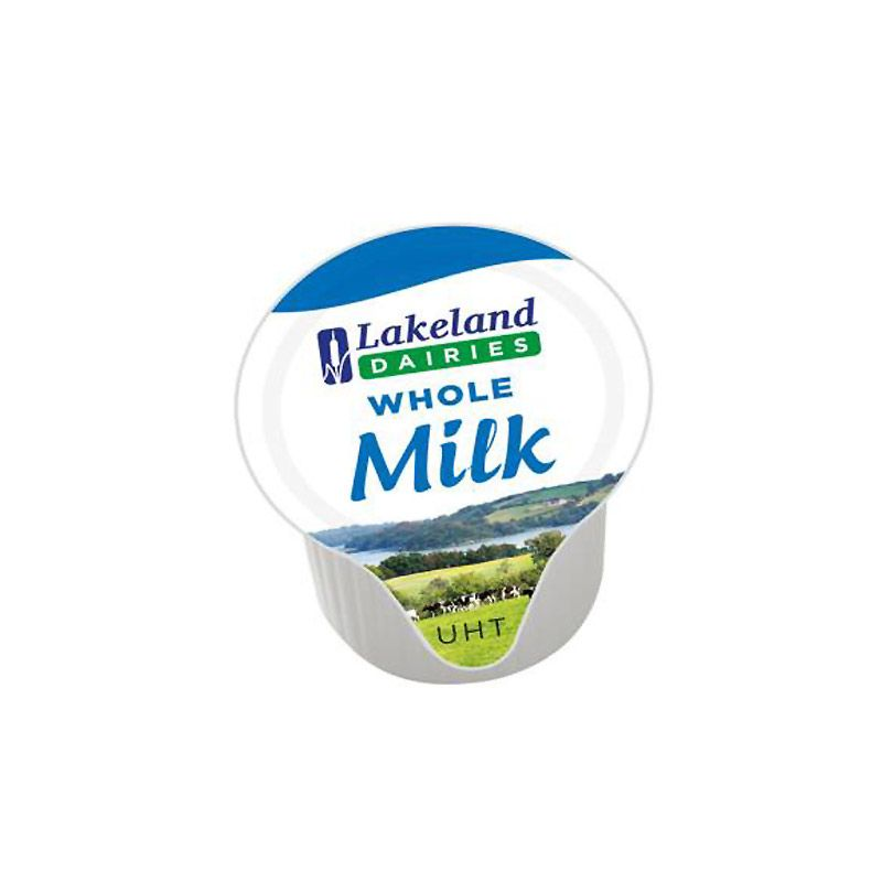 Lakeland: Long Life Whole Milk Portion Pots / Jiggers - Pack Of 120