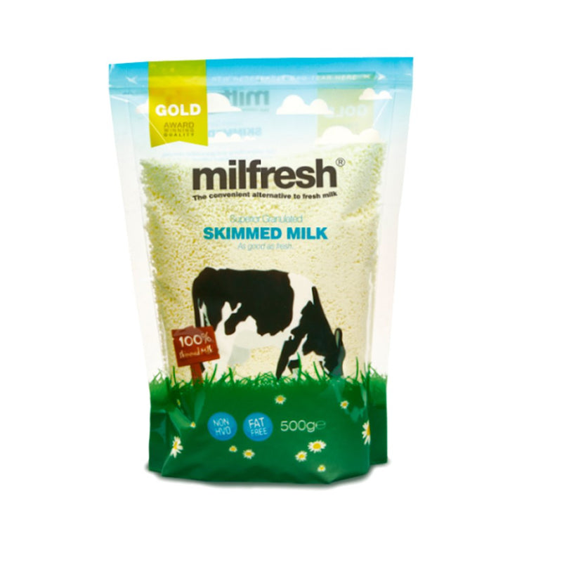 Milfresh Gold Granulated Skim Milk - 500g Bag