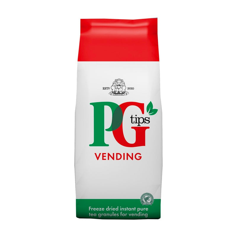PG Tips Freeze Dried Instant Tea Granules For Vending - 10 x 100g Case