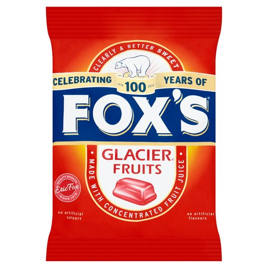 Fox's Individually Wrapped Glacier Fruits - 200g Bag