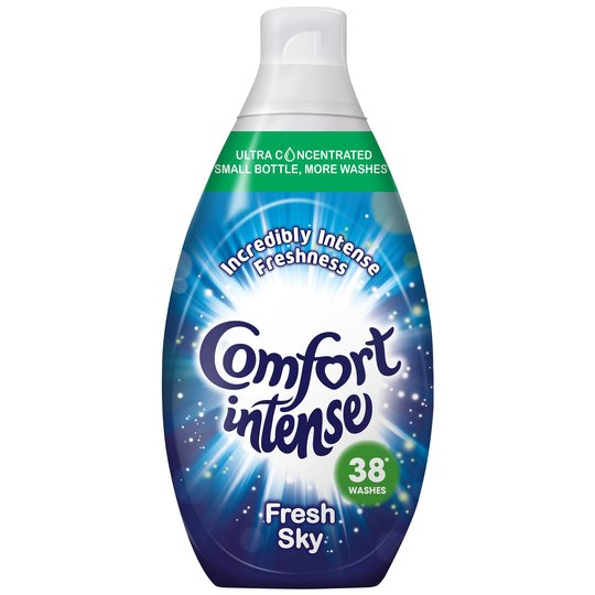 Comfort Intense Fresh Sky - 38 Washes - Fabric Conditioner 570ml