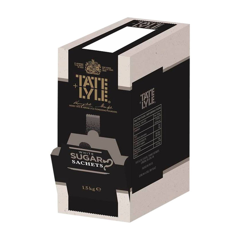 Tate & Lyle: White Sugar Portion Sachets - Pack Of 600