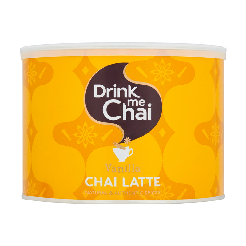 Drink Me Chai: Vanilla Chai Latte Mix - 1KG Catering Tub