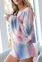Load image into Gallery viewer, IceyChic Tie Dye Ruffle Sweatsuit (6 Colors)
