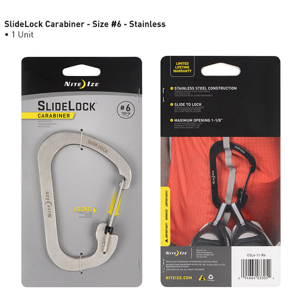 SlideLock Carabiner