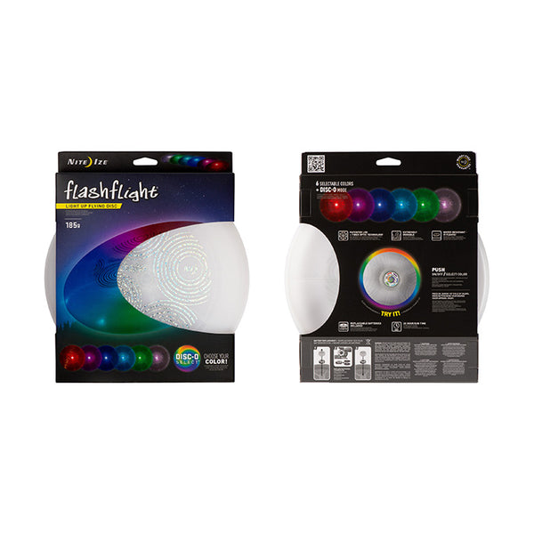 Flashflight LED Light-Up Flying Disc- Disc-O Select